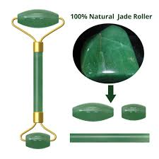 <b>Natural Rose</b> Quartz <b>Jade Roller</b> Massage Face Lift Tools Real ...