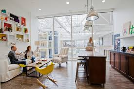 an living room like office airbnb office design san