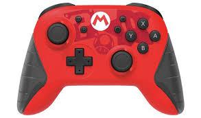 Buy Nintendo Switch <b>Wireless Pro Controller</b> - Mario   Nintendo ...