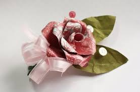 <b>Handmade Paper</b> Corsages | Make and Takes