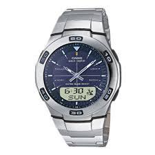 Наручные <b>часы CASIO WVA</b>-<b>105HDE</b>-<b>2A</b> WAVE CEPTOR ...