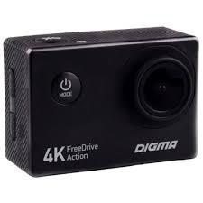 <b>Видеорегистратор Digma FreeDrive Action</b> 4K купить, выгодная ...