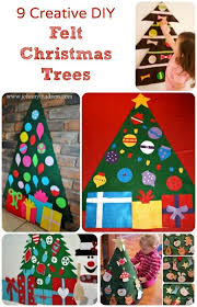 <b>Felt Christmas</b> Tree Ideas and Inspiration for Your Own | <b>Diy felt</b> ...