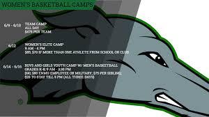 <b>Women's</b> Basketball Announces <b>2021 Summer</b> Camp Dates ...