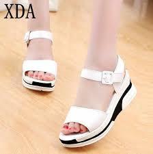 XDA 2019 <b>Women's</b> Sandals Female Casual <b>New Fashion Summer</b> ...