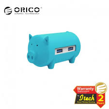 <b>ORICO H4018</b>-<b>U3</b> Litte Pig Hub with Card Reader