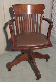 art deco medium oak office desk chair antiques atlas art deco office chair