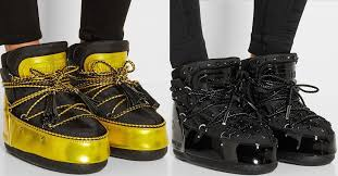 "Just-In: Crazy <b>Moon Boot</b> + <b>Jimmy</b> Choo ""MB Buzz"" Shell Boots"