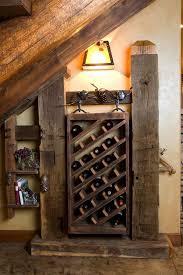 diy wooden wine racks rustic wine cellar ideas old beams chic minimalist wine cellar design decorated