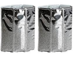<b>Набор охладительных рубашек</b> для вина 2шт (серебро) (Vacu Vin)