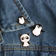 Online Shop 2-<b>5pcs</b>/Set Cat Dog Panda Penguin <b>Cartoon</b> Animals ...