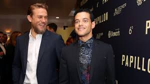 """Charlie Hunnam and Rami Malek's '<b>Papillon</b>': """"Somewhat of a Love ..."""