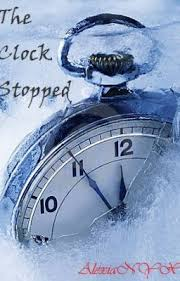 the clock has stopped ticking