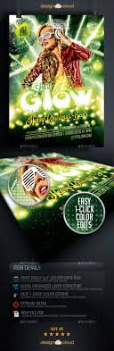 best images about cool christmas flyer templates let it glow christmas event flyer template