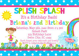 watch more like girls birthday party invitations printable splish splash girls invitation code ttb100510 15 00 print option print