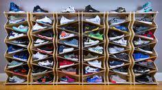 Six Stack Maple + Clear в 2019 г. | Обувь | Shoe shelves, Sneaker ...