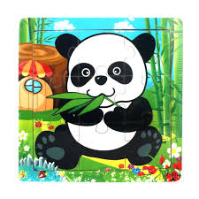 <b>3D Wooden Puzzle Jigsaw</b> Toys For Children Wood 3d Cartoon ...