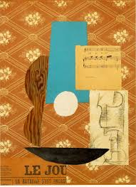 pablo picasso s bottle of suze palette scrapings pablo picasso guitar sheet music and glass 1912