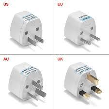 Universal AU UK US To <b>EU Plug Adapter</b> Converter USA Australian ...