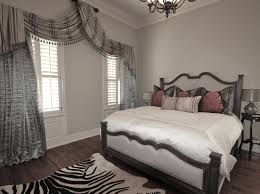 silver bedroom curtains
