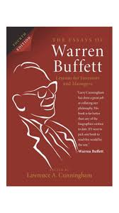 buy the essays of warren buffett th edition lessons for the essays of warren buffett 4th edition lessons for investors and managers