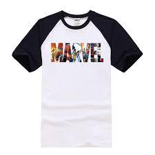 <b>2018 Fashion</b> Marvel t shirt men summer new The Avengers ...