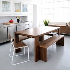 kitchen tables contemporary bench seats