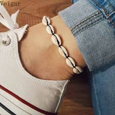 <b>New Anklets for Women</b> Shell Foot Jewelry Summer Beach Barefoot ...