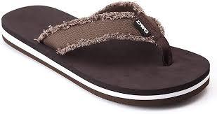 DWG Men's Soft Flip-Flops Sandals Light Weight ... - Amazon.com