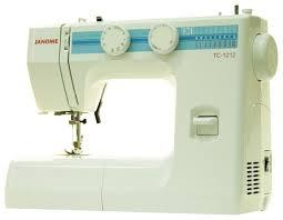 Купить Швейная машина <b>JANOME</b> TC-1212 <b>белый</b> в интернет ...