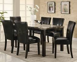 White Marble Dining Table Dining Room Furniture Coaster Co Dining Sets Coaster Furniture Living Room And More