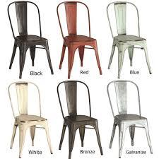 greene fusion metal dining chair