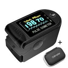 <b>RUNFEGNTE 2PCS Digital Finger</b> Oximeter Portable Electronic LED ...