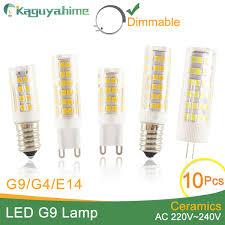 2019 <b>Kaguyahime</b> High Bright Ceramic <b>Dimmable</b> E14 <b>Light Lamp</b> ...
