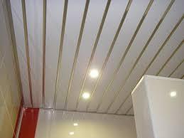 Как сделать <b>реечный</b> алюминиевый <b>потолок</b> в ванной своими ...