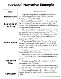 personal narrative essay samples a quick overview of what should be included in your personal narrative essay
