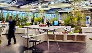 Bringing The Outside In Nature Inspired Office Designs