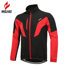 ARSUXEO Reflective Thermal Fleece Men's Long <b>Autumn Winter</b> ...