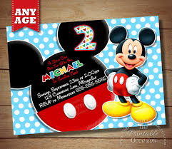 6 incredible mickey mouse invitations printable ideas for kids 6 incredible mickey mouse invitations printable ideas for kids party bestpickr