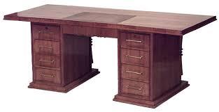 desk french art deco jules leleu fsd088 art deco office furniture