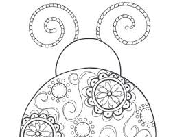 Small Picture Bug coloring page Etsy