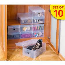 Tatkraft GLASGOW <b>Набор</b> из 10 пластиковых <b>коробок для</b> ...