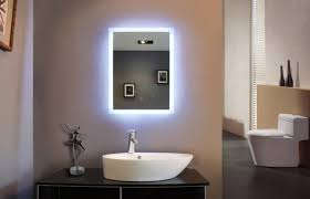 bathroom frameless lighted bathroom mirror with stunning bathroom design and sink faucet also toilet seat bathroom mirror with lighting