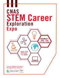 cnas stem career exploration expo living learning experience cnas stem career exploration expo
