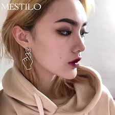 MESTILO <b>Fashion</b> Gold Sliver Love Heart Choker Necklaces ...