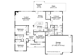 Traditional House Plans   Green Valley     Associated DesignsTraditional House Plan   Green Valley     Floor Plan