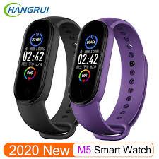 2020 <b>New M5 Smart</b> Watch Bluetooth Sport Fitness Tracker <b>Smart</b> ...