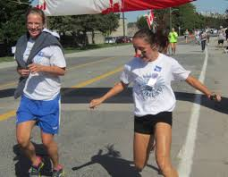 terry fox run draws runners and walkers for the k course that that