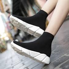 Brand Unisex Socks Shoes <b>Breathable High</b>-<b>top</b> Women Shoes ...