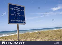europe pays de la loire vendee beach out supervision europe pays de la loire vendee beach out supervision danger sign